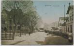 AK Wulsdorf Schulstraße mit Menschen b. Bremerhaven 1917 RAR