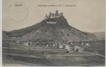 AK Bad Neuenahr Ahrweiler Ortsansicht mit Burg Landskron im 17. Jahrhundert 1909