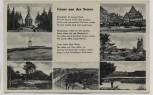 AK Mehrbild Gruss aus der Senne Gedicht Sennelager b. Paderborn 1935