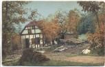 VERKAUFT !!!   AK Rottenbach Thüringen Sägemühle im Walde b. Königsee-Rottenbach 1910