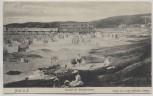 AK Binz auf Rügen Strand mit Brückenbazar Damen 1905