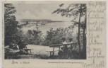 AK Binz auf Rügen Gesamtansicht mit Landungsbrücke 1905