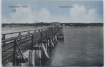 AK Ostseebad Graal-Müritz Oststrandbrücke 1912