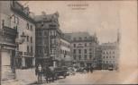AK Regensburg Krauterermarkt mit Pferdekutsche 1910 Selten RAR