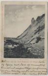 VERKAUFT !!!   AK Gruss von der Insel Hiddensee bei Rügen Bei den Klinten 1903
