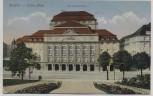 AK Dresden Ostra-Allee Kgl. Schauspielhaus Feldpost 1916