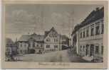 VERKAUFT !!!   AK Wildenfels in Sachsen Marktplatz mit Apotheke 1920