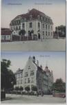 AK Kötzschenbroda Kaiserliches Postamt Neue Schule b. Radebeul 1910