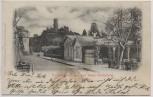 AK Kurfürstenstrasse und Ruine Godesberg b. Bonn 1902