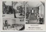 AK Mehrbild Weinböhla Gaststätte Waldfrieden Neuer Anbau 1986