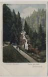 AK Litho Gruss aus dem Schwarzwald Triberger Wasserfall b. Triberg 1900