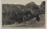 VERKAUFT !!!   AK Foto Brünnling Bründlingalm b. Hochfelln Bergen (Chiemgau) 1930