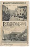 AK Gruss aus Schramberg Lauterbachstraße m. Handlung v. Franz Schinle Marktplatz 1904 RAR