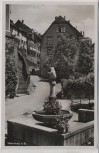 AK Foto Meersburg am Bodensee Bärenbrunnen 1940