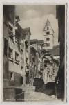 AK Foto Meersburg am Bodensee Kirchgasse 1940