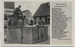 AK Braunschweig Eulenspiegelbrunnen mit Gedicht 1940