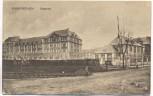 AK Euskirchen Kaserne mit Gleis 1920