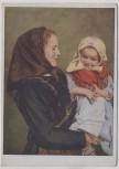 Künstler-AK Hans Retzlaff Bäuerin aus Wolfsberg mit Kind Banater Schwaben Rumänien VDA Nr. 4 1935