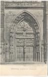 AK Nürnberg Lorenzkirche Hauptportal 1903