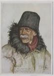 Künstler-AK Otto Engelhardt Kyffhäuser Bauer Gottlieb Ludwig Vom großen Treck VDA Nr. 4 1935