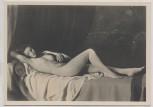 VERKAUFT !!!   Künstler-AK Johann Schult Die Ruhende Akt München Haus der Deutschen Kunst HDK 410 2 1935