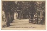 VERKAUFT !!!   AK Bad Lauchstädt Promenade mit Wandelhalle 1927