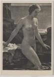 Künstler-AK Richard Klein Badende Akt Frau München Haus der Deutschen Kunst HDK 578 1935