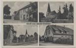 AK Mehrbild Gruss aus Jacobi Drebber Kriegerdenkmal Kirche Geschäft 1940