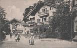 AK Tegernsee Rosenstrasse bei Rottach-Egern 1910 Sammlerstück