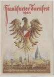 Künstler-AK Frankfurt am Main Turnfest Wappen Sonderstempel 1948