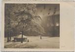 AK Foto München Alter Hof Im Winter bei Nacht 1936