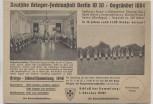 AK Drucksache Berlin Schöneberg Deutsche Krieger-Fechtanstalt W 30 Sonderstempel 1940 RAR