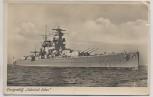 AK Foto Panzerschiff Admiral Scheer 1940
