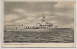 AK Foto Artillerieschulschiff Brummer 1940