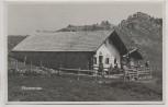 AK Foto Klausneralm Elland-Alm b. Aschau im Chiemgau 1936 RAR