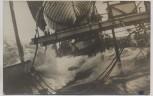 AK Foto S.S. Galicia im Sturm durch die Biskay Windstärke 12 1930