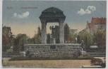 AK Zeitz Arnold-Brunnen Feldpost 1915