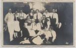 AK Foto Erfurt Mühlhäuser Bauerngemeinde Gruppenbild Trachten 1930 RAR