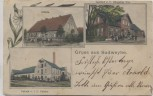 AK Gruss aus Sudweyhe Fabrik Schule Gasthof b. Weyhe 1904 RAR