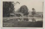 AK Foto Burghaslach Naturschwimmbad 1960 RAR