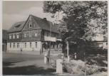 AK Foto Wolfersdorf HO-Hotel und Gaststätte Schüsselgrund b. Stadtroda 1963