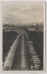 VERKAUFT !!!   AK Foto Berlin Die Ost-West-Achse von der Siegessäule aus gesehen 1943