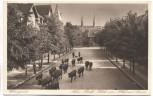 AK Wernigerode Neuer Markt Blick vom Hotel zur Sonne Viehtrieb 1930