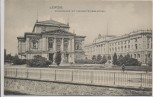 AK Leipzig Gewandhaus mit Universitätsbibliothek 1900