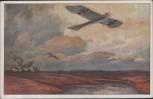 AK Militärtaube auf Erkundungsflug bei den Masurischen Seen Deutscher Luftflotten-Verein 1915