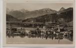 AK Foto Egern am Tegernsee mit Leonhardstein 1939