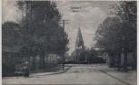 AK Gettorf Markt mit Kirche 1910