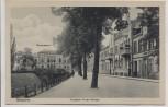 AK Güstrow Friedrich Franz-Strasse mit Gymnasium 1920 RAR
