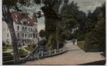 AK Güstrow Partie am Wall mit Haus 1910