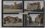 AK Mehrbild Gruß aus Mengede Bergmannsheim Amtshaus Bahnhofstraße ... Dortmund 1923